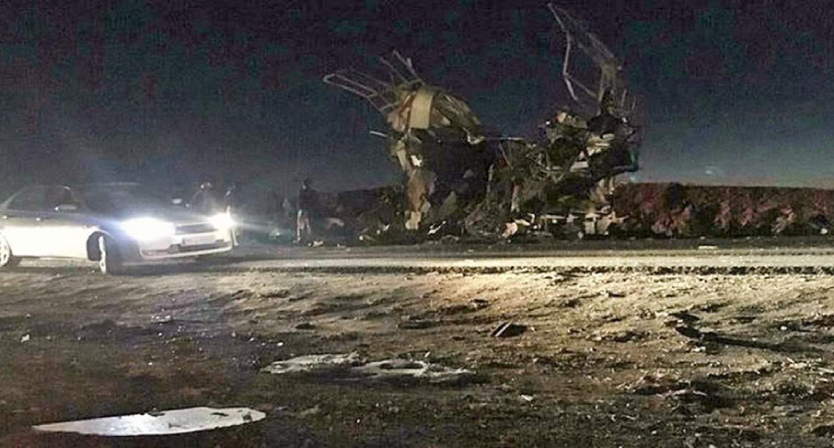 Decenas de Guardias Revolucionarios muertos en una explosión en Irán