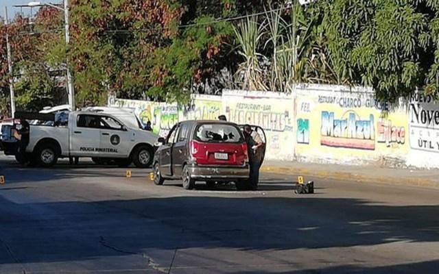 Ejecutan a comandante de la Policía Municipal de Acapulco - Atos donde murió el comandante Octavio Guinto. Foto de @Quorum_Media