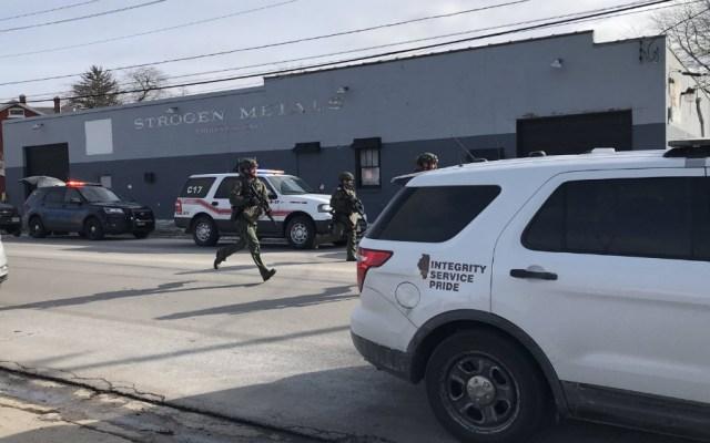 Cuatro policías heridos tras tiroteo en Illinois - Foto de @MeganA_Jones