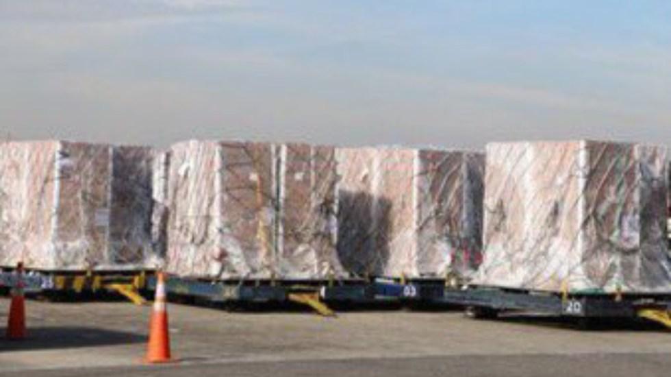 Brasil abrirá centro de acopio de ayuda humanitaria para Venezuela - Primer cargamento de ayuda humanitaria llegando a Colombia para ser trasladado a Venezuela. Foto de @USEmbassyBogota