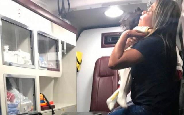 Chofer agrede a familia de regidor y toma de rehén a bebé en Veracruz - Foto Especial