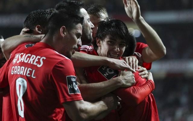 Benfica sorprende con goleada al Nacional en la liga portuguesa - Foto de @SLBenfica