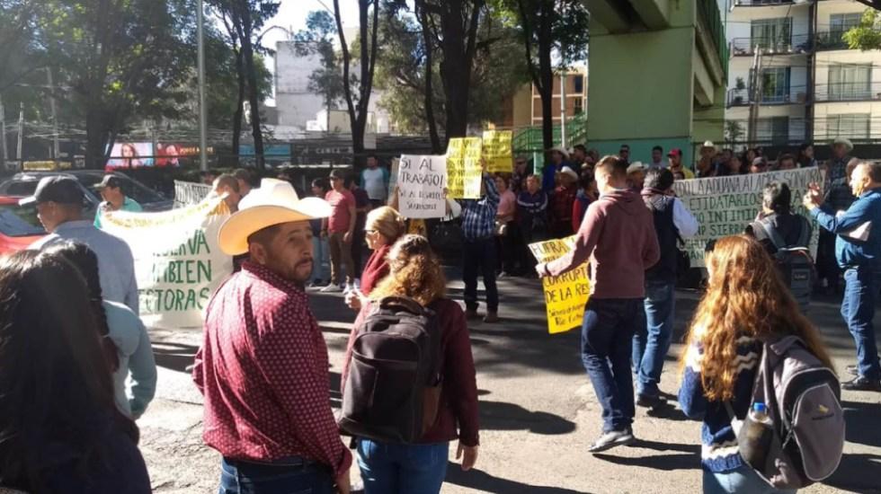 Mineros de Sonora bloquean Ejército Nacional - mineros de sonora bloquean ejército nacional