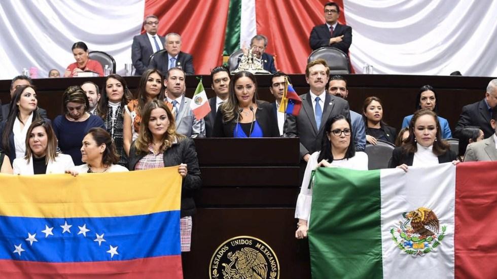 Morena frena propuesta del PAN para reconocer a Juan Guaidó - Juan Guaidó