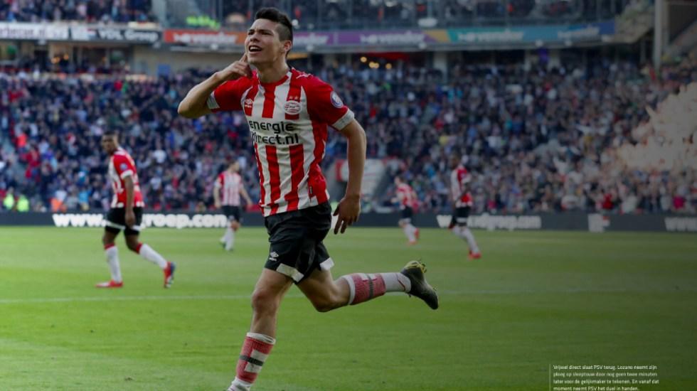 Golazo de Chucky Lozano contra el Feyenoord - golazo de chucky en empate con el feyenoord