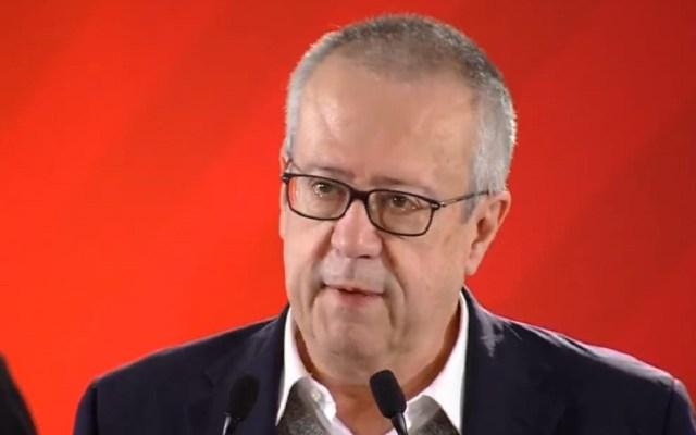 Afores van a ganar tras cancelación del NAIM: Carlos Urzúa - Carlos Urzúa, secretario de Hacienda. Captura de pantalla