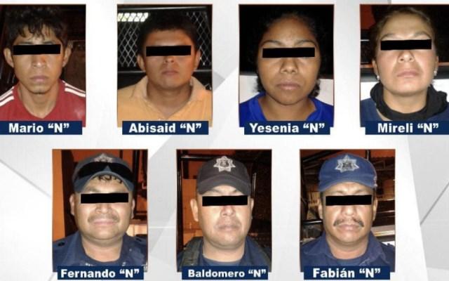 Detienen a 9 en Guerrero relacionados con Los Rojos; cuatro son policías - Foto de Vocero Roberto Álvarez Heredia