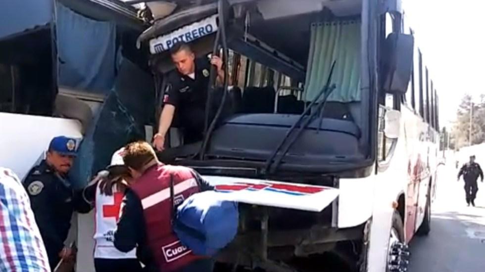 Joven pierde su brazo en choque de camiones en Insurgentes Norte - choue insurgentes norte joven pierde el brazo