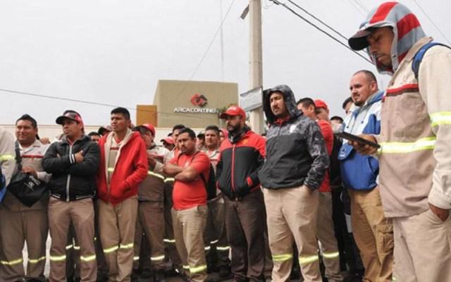 Cierra embotelladora en Matamoros por bloqueos - Foto de @GA_vichs