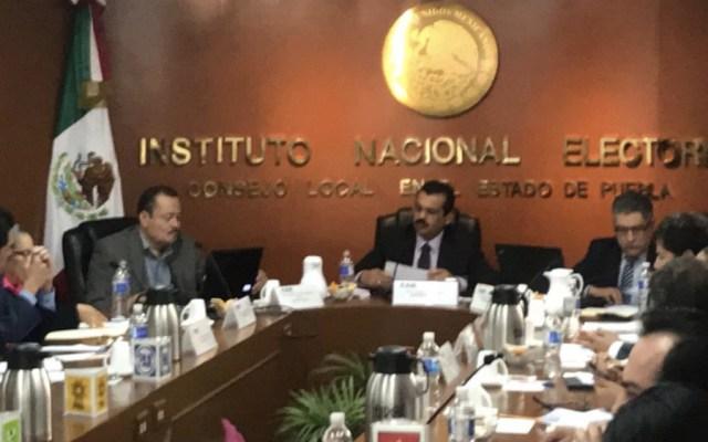 INE instala consejo por elección extraordinaria en Puebla - Foto de @SnMartinPamela