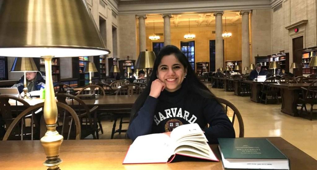Dafne Almazán, a los 17 años, realizará posgrado en Harvard - Foto de Notimex
