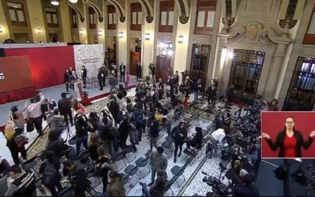 """""""No existió alguna activación"""" en equipos de alerta sísmica en Palacio Nacional: CIRES - Desalojo de Palacio Nacional. Captura de pantalla"""