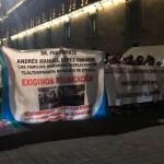 Desplazados de Guerrero exigen audiencia con López Obrador - Foto de @ArturoCanoMx