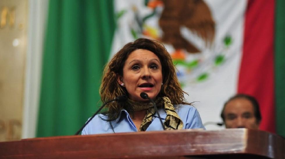 Diputada de Morena termina en el hospital tras asalto - Diputada Donaji Olivera Reyes. Foto de @DipDonaji