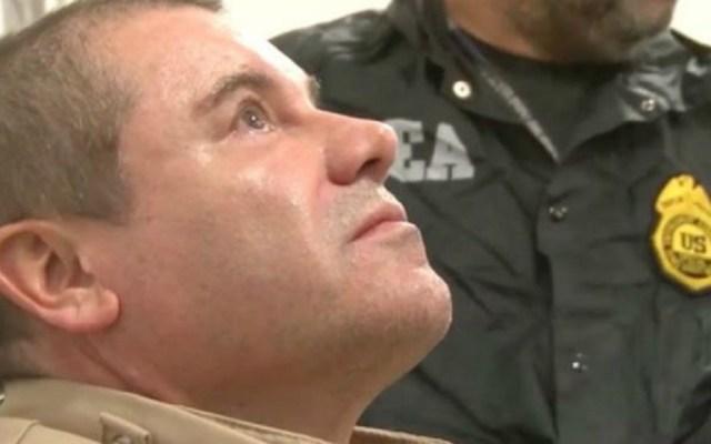 Se procederá legalmente por bienes incautados al'Chapo' en EE.UU.: AMLO - Estados Unidos 'El Chapo' Guzmás tras ser extraditado a EE.UU. Foto de DEA
