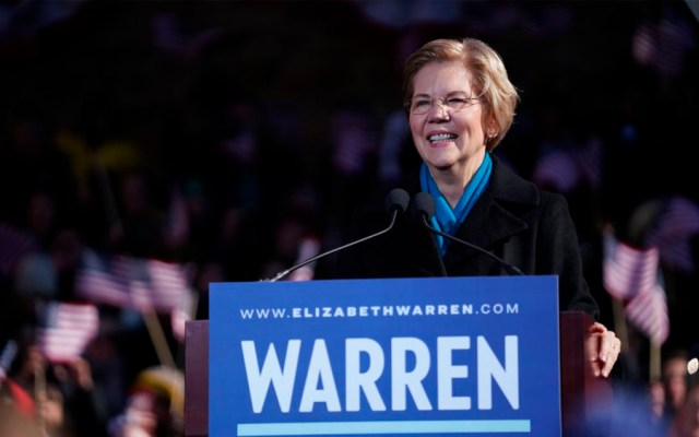 La demócrata Elizabeth Warren anuncia candidatura presidencial para 2020 - Foto de @ewarren