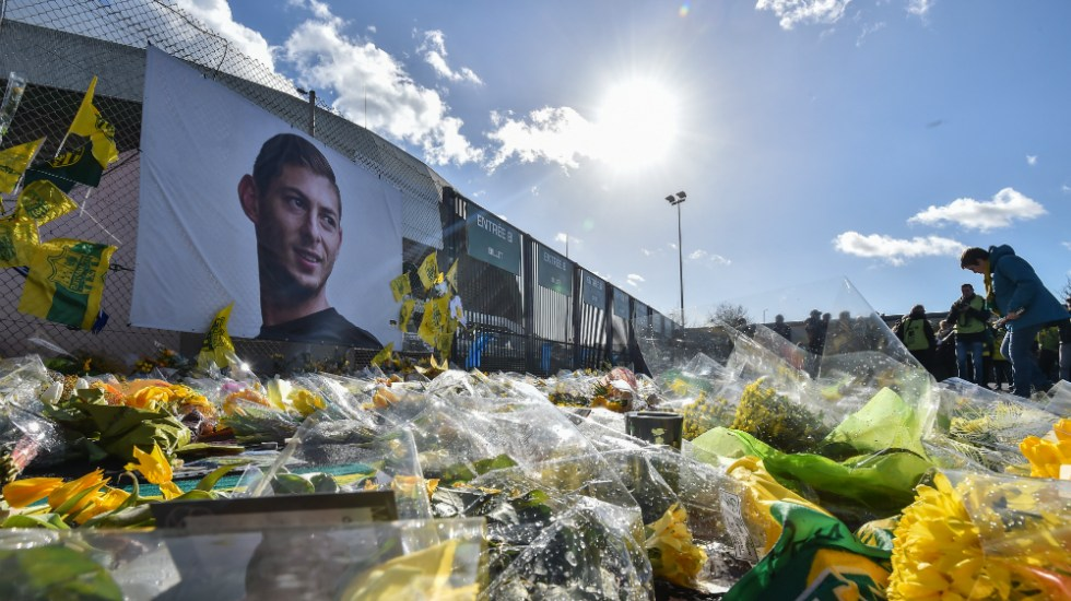 Nantes rinde un último homenaje a Emiliano Sala - Foto de AFP