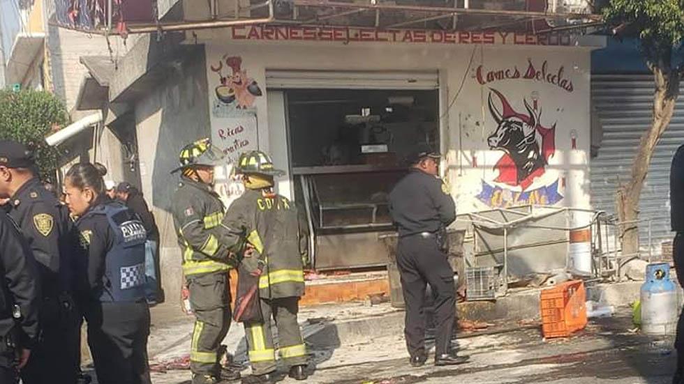 Explosión en carnicería de la GAM deja al menos 8 heridos. Noticias en tiempo real