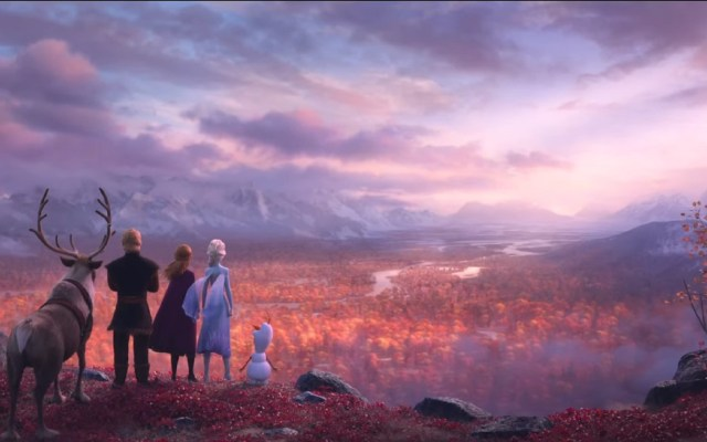 Disney lanza póster de Frozen 2 y anuncia tráiler - Escena de Frozen 2. Captura de pantalla