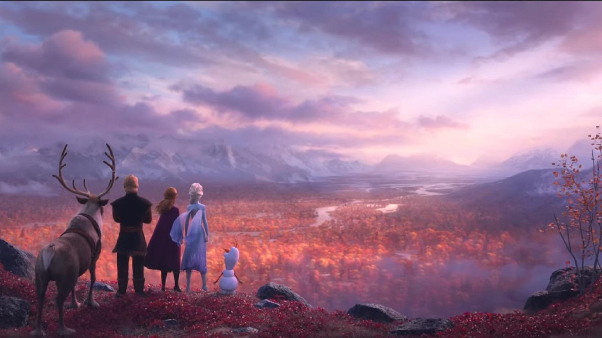 Escena de Frozen 2. Captura de pantalla