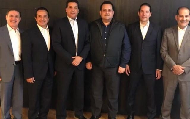 Gobernadores del PAN celebran mando civil en la Guardia Nacional - Foto de Twitter PAN
