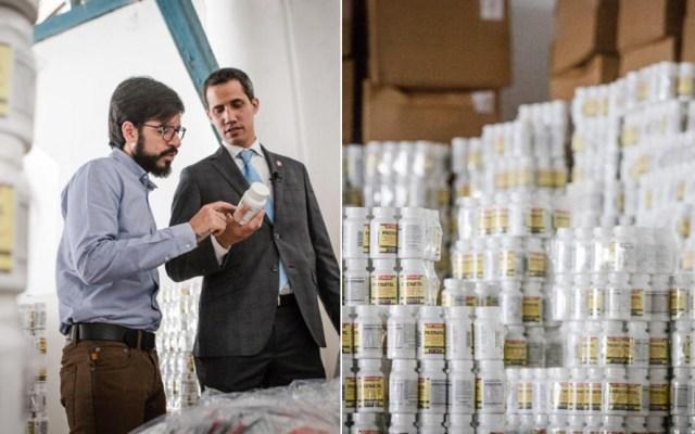 Duque promete apoyo para entrada de ayuda humanitaria a Venezuela - Foto de Juan Guaidó / Twitter