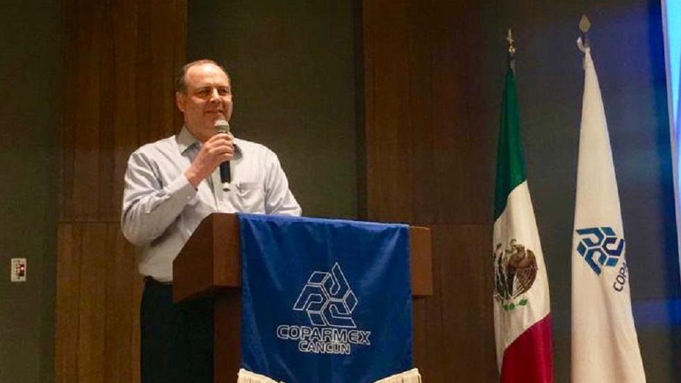 Coparmex pide al Gobierno Federal renovar pacto fiscal - Gustavo de Hoyos, presidente de la Coparmex. Foto de @gdehoyoswalther