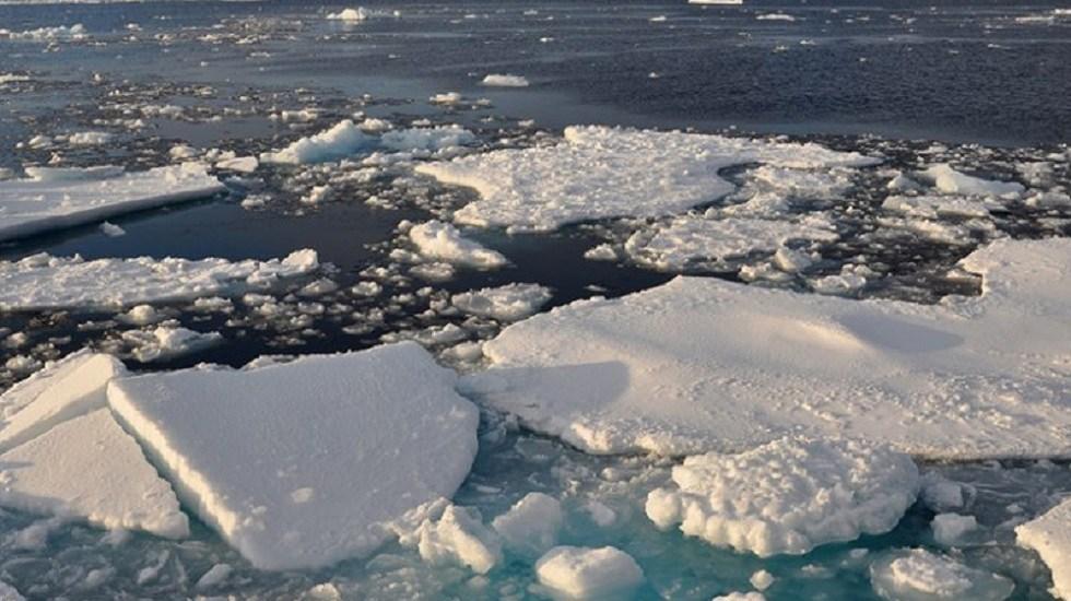El Ártico se quedará sin hielo durante el verano a partir de 2030 - Hielo marino en el Ártico. Foto de Patrick Kelley