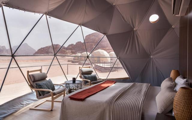Impresionantes hoteles en el desierto - Foto: Twitter