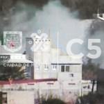 Combaten incendios en tres alcaldías de la Ciudad de México - Foto de C5