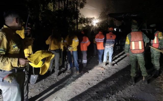 Controlado el incendio en Xochimilco - Foto de Sedema
