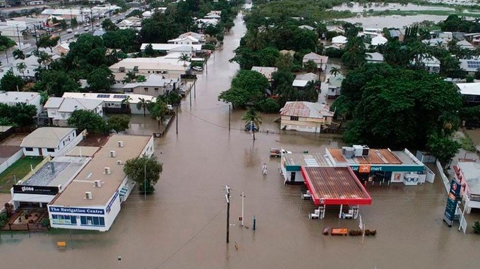 Alertan por presencia de cocodrilos tras inundaciones en Australia - Foto de AFP