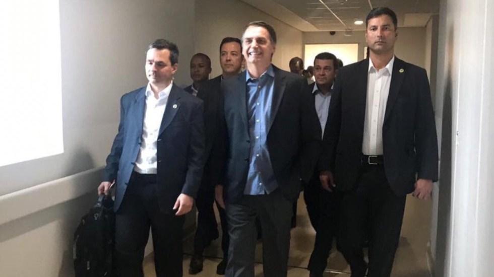 Jair Bolsonaro abandona el hospital - Jail Bolsonaro abandona el hospital de Sao Paulo