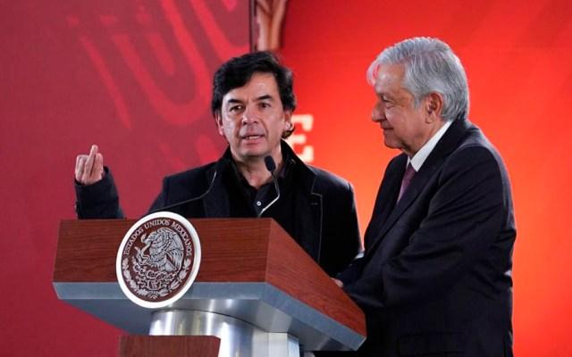 Mexicanos son eje de la Cuarta Transformación: Jesús Ramírez - Foto de @JesusRCuevas