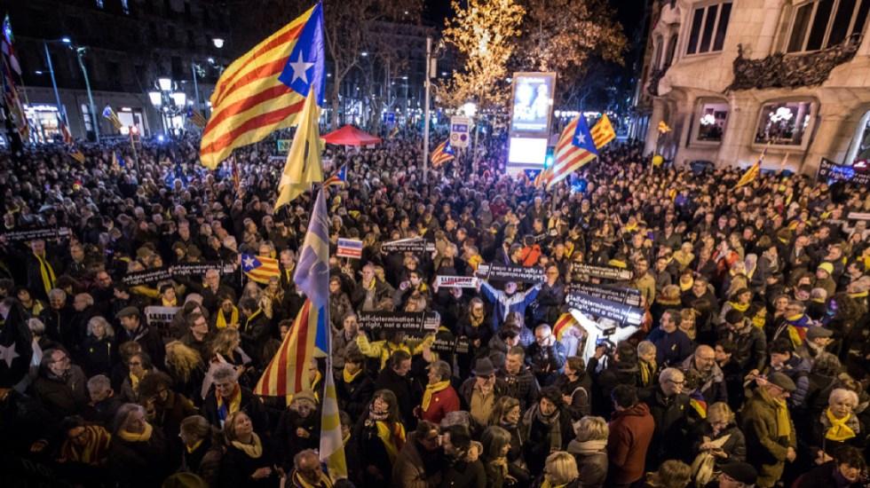 Independentistas catalanes no son presos políticos: Embajada de España - Juicio político embajada de españa independentismo catalán