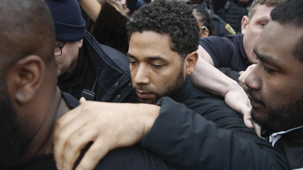 Video revela que Jussie Smollett pagó por fingir ataque racista - Foto de AP
