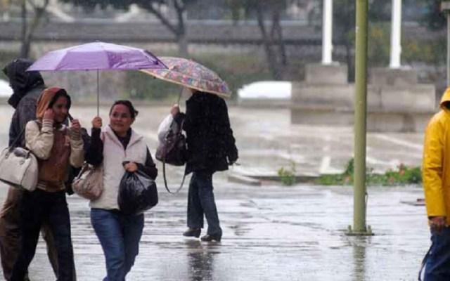 Persistirán las lluvias y el ambiente frío en gran parte del país - lluvias norte del país pronóstico del tiempo