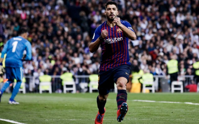 Suárez fulmina al Real Madrid y lleva al Barcelona a final de Copa - Foto de @FCBarcelona_es