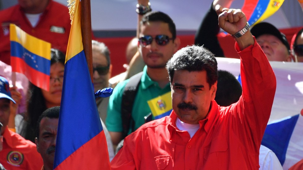 Maduro pide a México y Uruguay retomar propuesta de diálogo - Foto de AFP