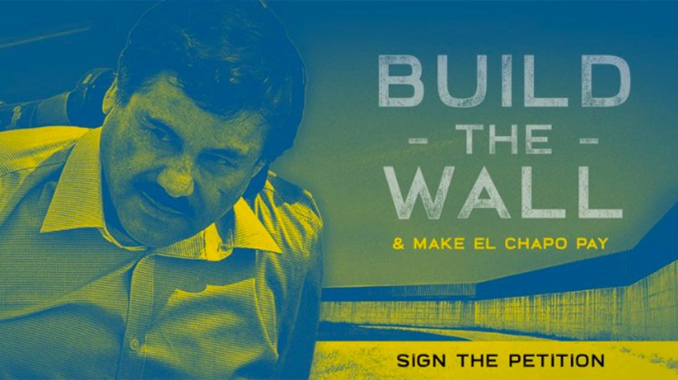 Ted Cruz insiste en utilizar el dinero del Chapo para construir el muro - Imagen de Ted Cruz
