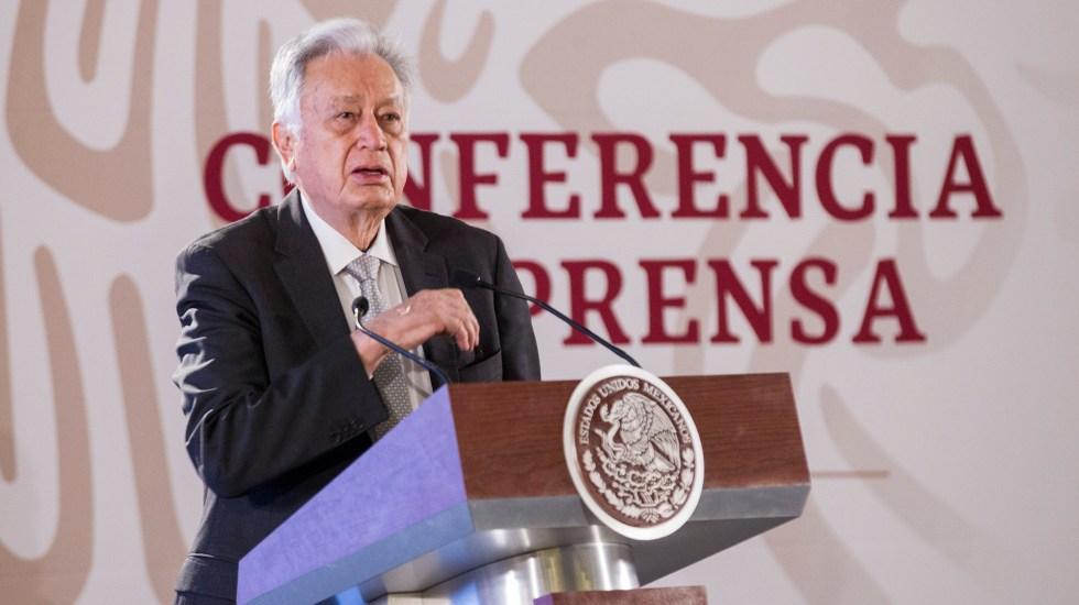 Manuel Bartlett denuncia a ex funcionarios por debilitar CFE - Manuel Bartlett. Foto de Notimex- José Pazos.
