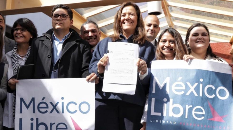 """Da INE """"visto bueno"""" a México Libre para continuar proceso para ser partido político - Foto de @rafasolanoperez"""
