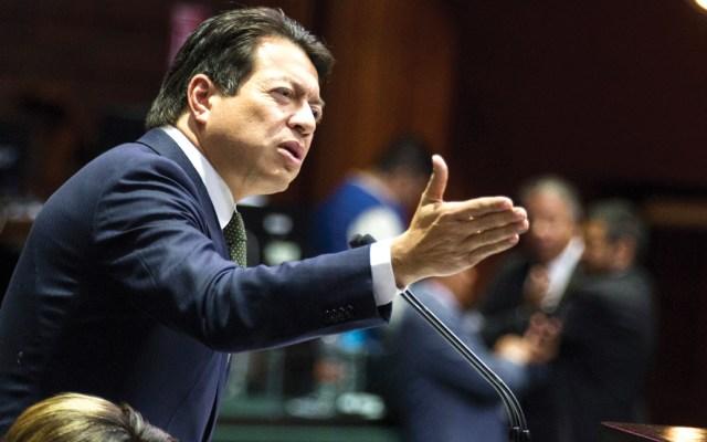 Morena buscará eliminar el fuero de los gobernadores: Delgado - Foto de Notimex