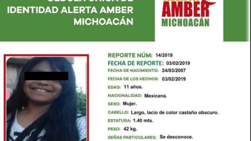 Detienen a feminicida de menor desaparecida en Morelia - menor feminicidio hermano padrastro