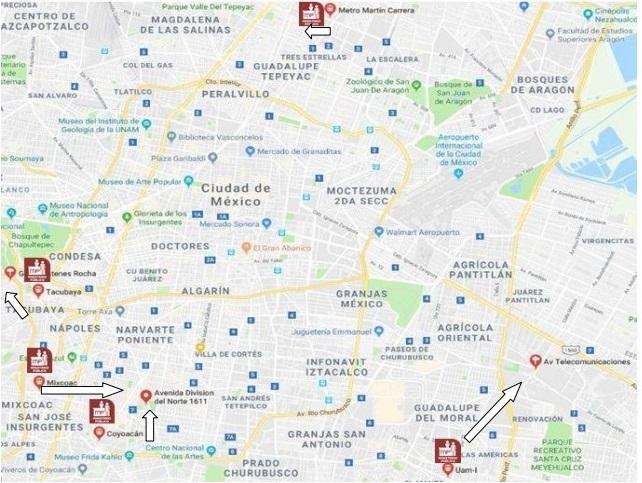 Metro a Fiscalía Desconcentrada de Investigación. Foto de GobCDMX