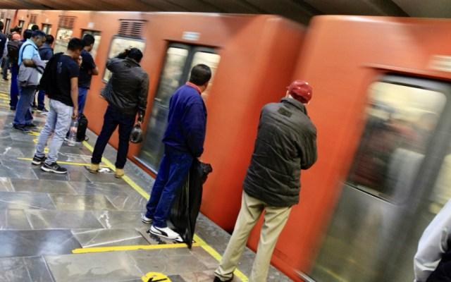 Víctima de acoso en Metro perdona a su agresor - Foto de Notimex