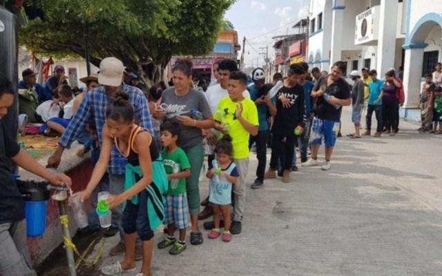 Reinicia caravana migrante caminata desde Chiapas - migrantes chiapas