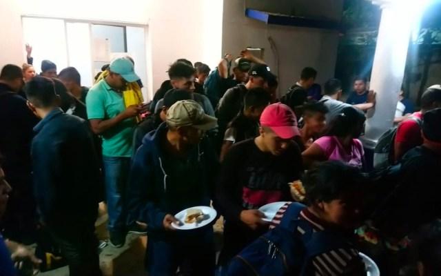 Rescatan a 239 migrantes en Veracruz y detienen a 10 mexicanos - Foto de Twitter