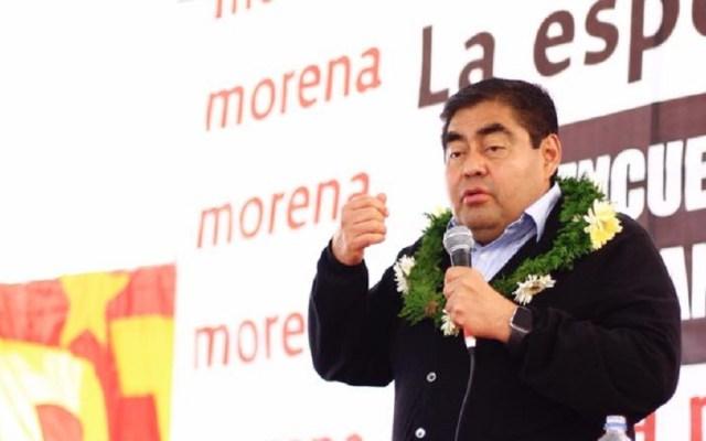 Miguel Barbosa confirma que volverá a buscar gubernatura de Puebla - Miguel Barbosa durante campaña electoral 2018 en Puebla. Foto de @LMiguel.Barbosa