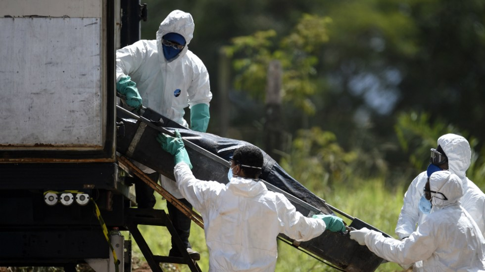 Se eleva a 150 muertos el balance del desastre minero en Brasil - Foto de AFP